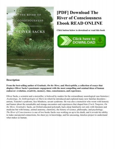 Pdf download the river of consciousness ebook read online pdf download the river of consciousness ebook read online fandeluxe Gallery