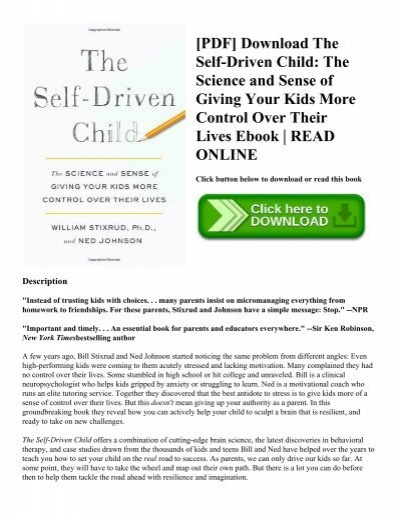 Pdf download the self driven child the science and sense of giving pdf download the self driven child the science and sense of giving your kids more control over their lives ebook read online fandeluxe Gallery