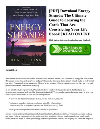 Magnified healing manual ebook array pdf download energy strands the ultimate guide to clearing the rh fandeluxe Choice Image
