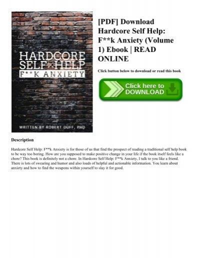 Pdf download hardcore self help fk anxiety volume 1 ebook pdf download hardcore self help fk anxiety volume 1 ebook read online fandeluxe Choice Image