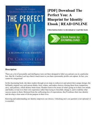 Pdf download the perfect you a blueprint for identity ebook read pdf download the perfect you a blueprint for identity ebook read online malvernweather Choice Image