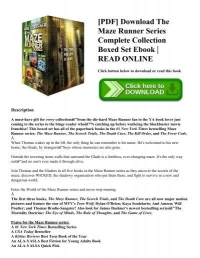 Runner ebook the maze indonesia download