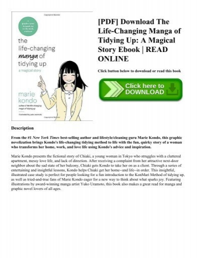 Pdf download the life changing manga of tidying up a magical story pdf download the life changing manga of tidying up a magical story ebook read online fandeluxe Choice Image
