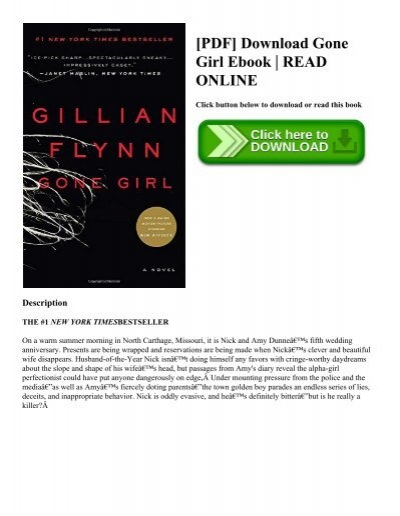 Pdf download gone girl ebook read online pdf download gone girl ebook read online fandeluxe Images