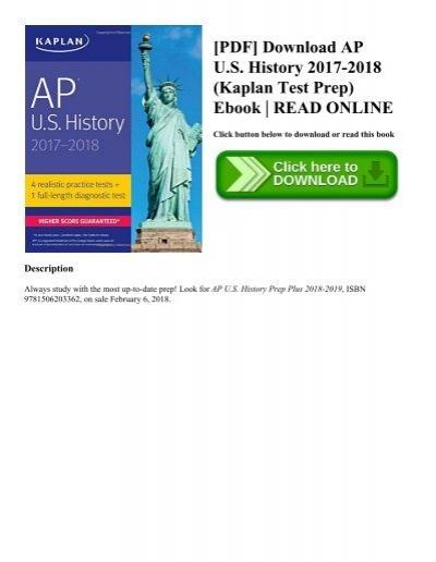 Pdf download ap us history 2017 2018 kaplan test prep ebook pdf download ap us history 2017 2018 kaplan test prep ebook read online fandeluxe Choice Image