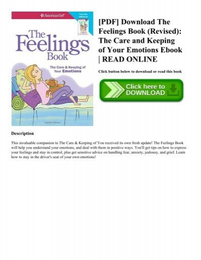 Pdf download the feelings book revised the care and keeping of pdf download the feelings book revised the care and keeping of your emotions ebook read online fandeluxe Gallery