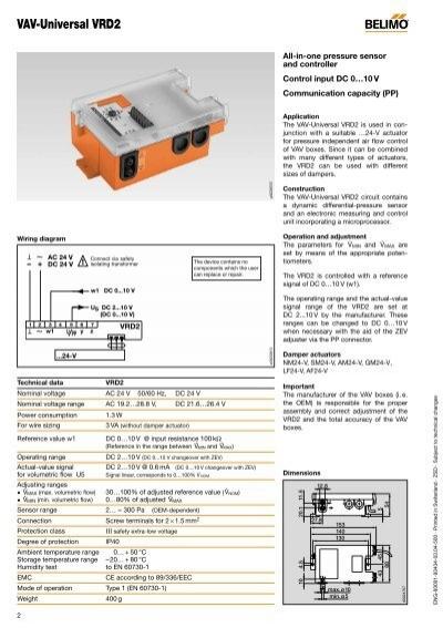 Belimo Universalregler VRP-M Or Different VFP-300 Multiple Choices