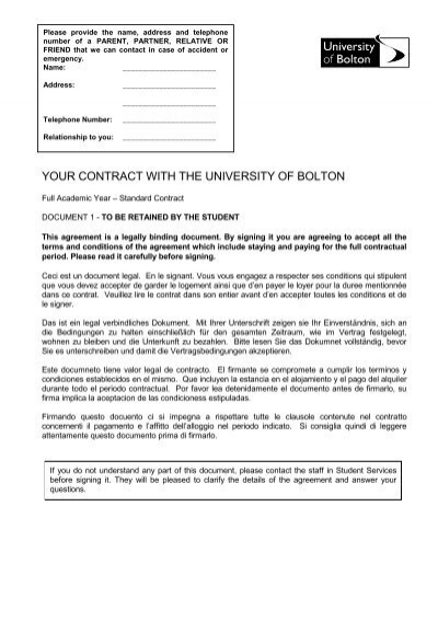 I Have Read And Understood Document A Important Contract - Legally binding document