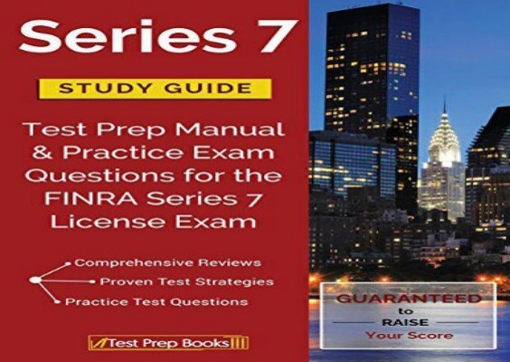 the best book of the month series 7 study guide test prep manual