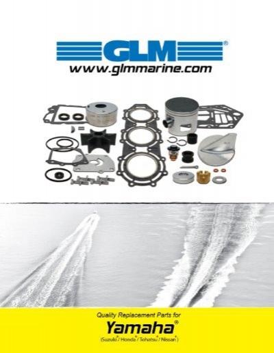Yamaha Water Pump Kit 6N6-W0078-02 115 130 HP 2 Stroke Standard Rotation 1984+
