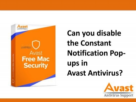 Can You Disable The Constant Notification Pop Ups In Avast Antivirus