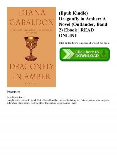Epub Kindle Dragonfly In Amber A Novel Outlander Band 2 Ebook