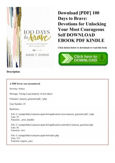 Download pdf 100 days to brave devotions for unlocking your most download pdf 100 days to brave devotions for unlocking your most courageous self download ebook pdf kindle fandeluxe Image collections