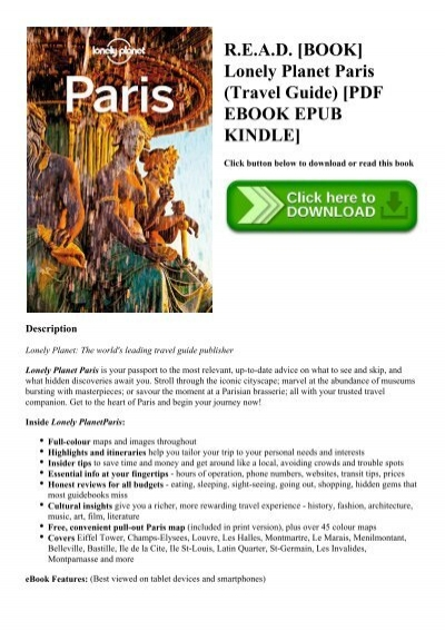 lonely planet paris pdf free download