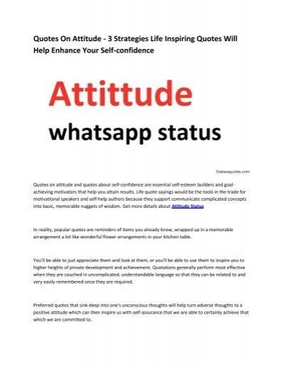 6 Attitude Status