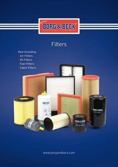 Borg /& Beck BFO4217 Oil Filter