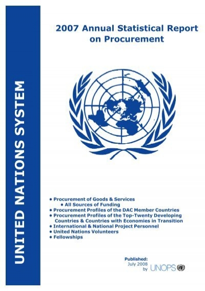 8696a318a E:ASR 2007SR Cover 2008 Front - United Nations Global Marketplace
