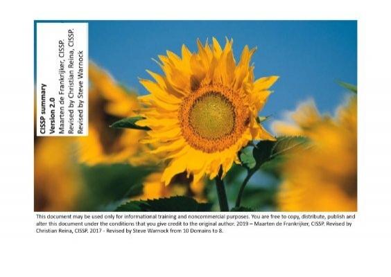 Sunflower Cissp
