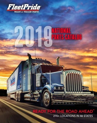 2019 National Parts Catalog on