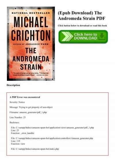 The Andromeda Strain Pdf