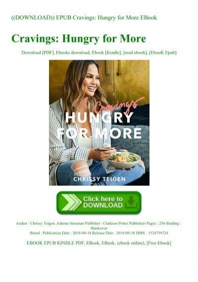 cravings chrissy teigen pdf free download