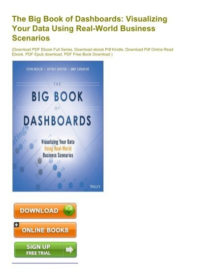 EXTRA) The Big Book of Dashboards: Visualizing Your Data