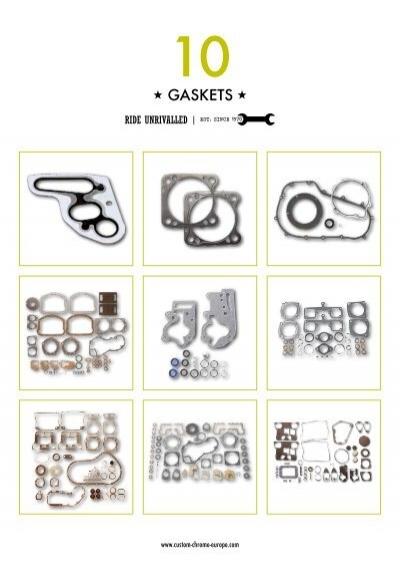 James Gasket Side Mount Oil Filter Gasket Set 63800-48-K