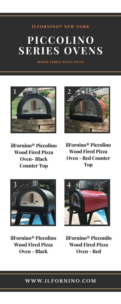 Ilfornino Piccolino Series Wood Fired Pizza Oven