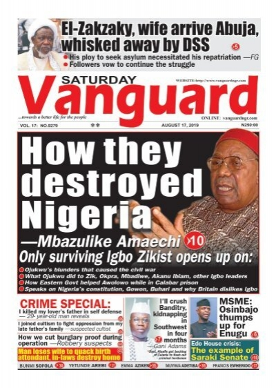17082019 - How they destroyed Nigeria