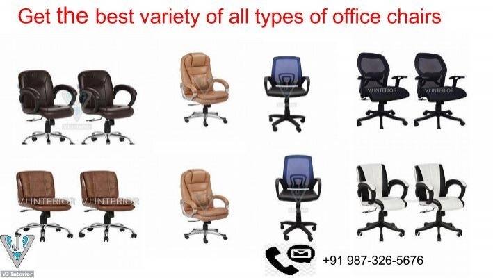Variety Of All Types Office Chairs