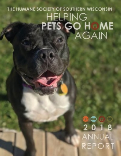 Humane Society Of Southern Wisconsin Annual Report 2018