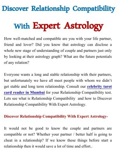 Partner compatibility test life 11 Must