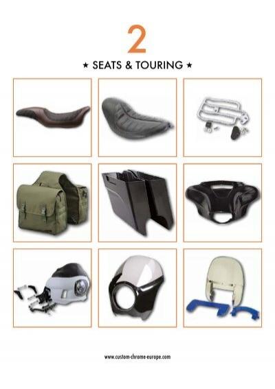 "16/"" Black Leather Deep Contour Style LaRosa HD Springer Custom Mount Solo Seat"
