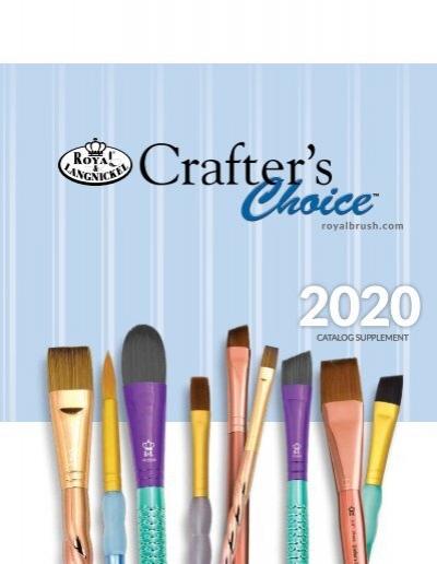 Royal /& Langnickel Crafter/'s Choice Sponge Stippler 6 Piece Set