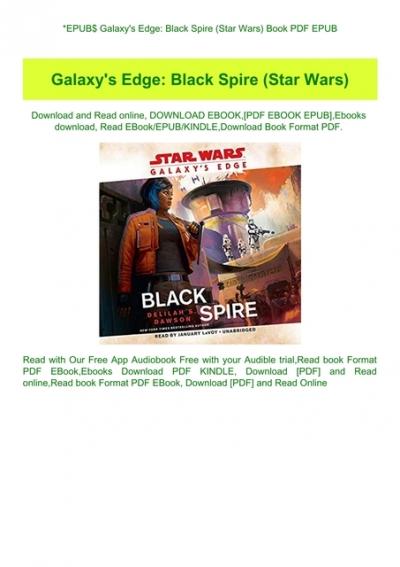 Epub Galaxy Amp 039 S Edge Black Spire Star Wars Book Pdf Epub