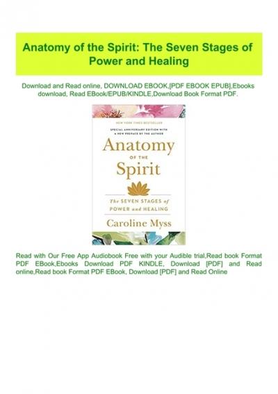 anatomy of the spirit by caroline myss pdf free download