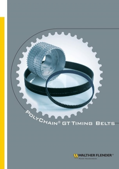 Timing Belt Pulley Formula : Walther