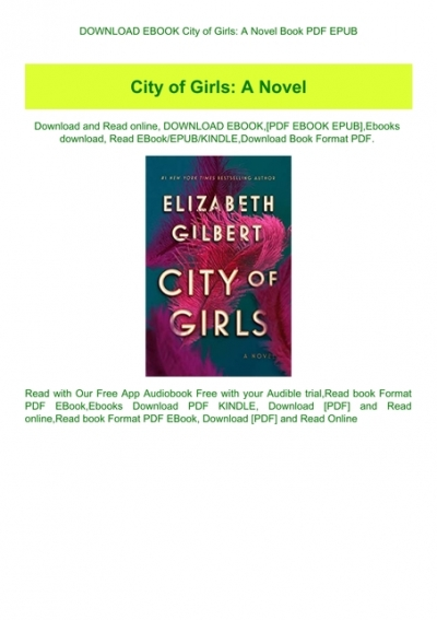 City of Girls by Elizabeth Gilbert PDF E-Book