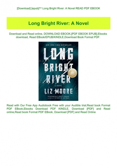 Long Bright River Book