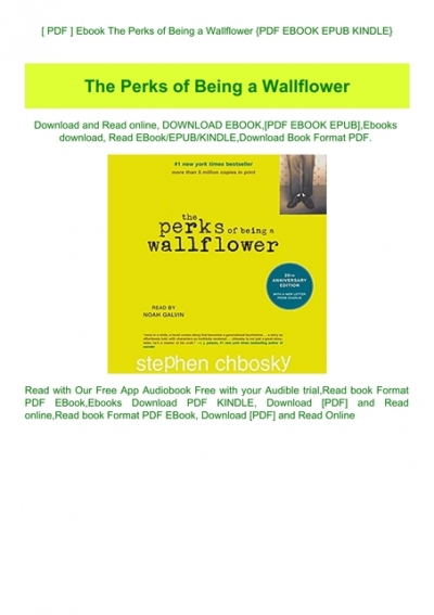 perks of being a wallflower ebook free download pdf