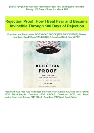 Rejection proof pdf free download windows 10