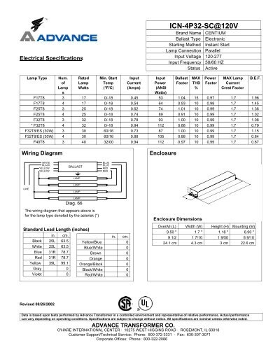 4 Lamp Ballast Wiring Diagram Centium Philips Circuit