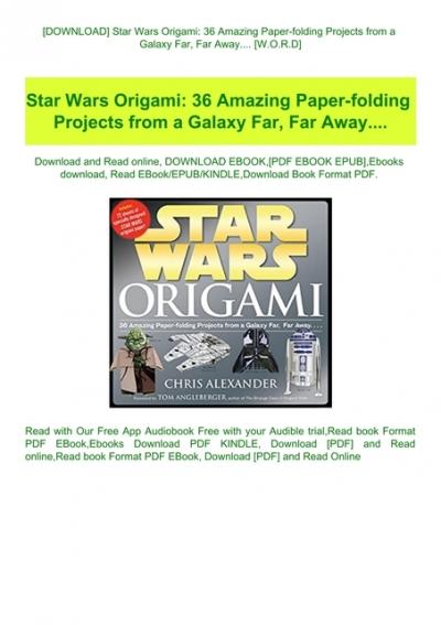 How to Fold | Origami Yoda | 567x400