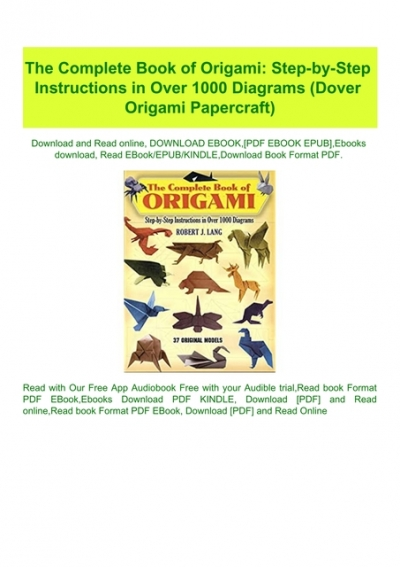 Book 3D origami download free | 567x400