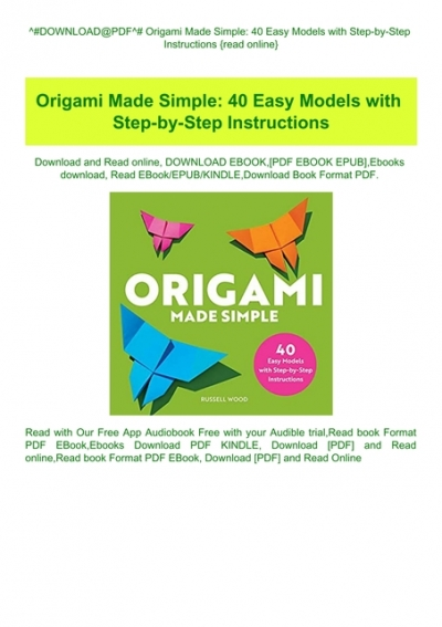 Printable Origami Instructions | 567x400