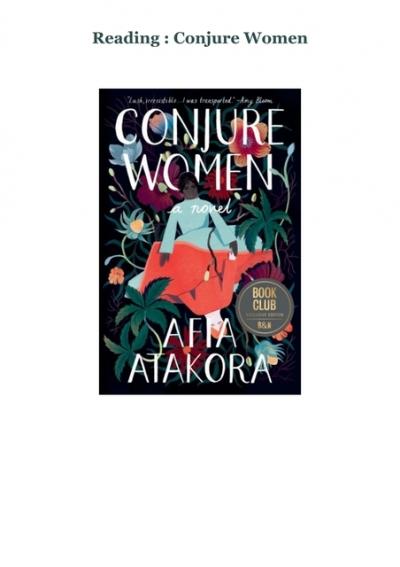 Conjure Women Book