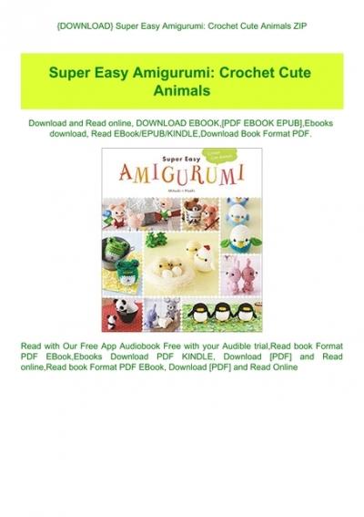Zoomigurumi 6: 15 Cute Amigurumi Patterns by 15 Great Designers ... | 567x400