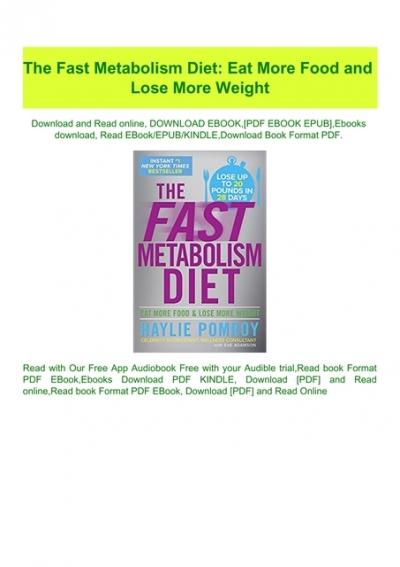 metabolism diet svenska