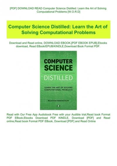 computer science ebooks free download pdf