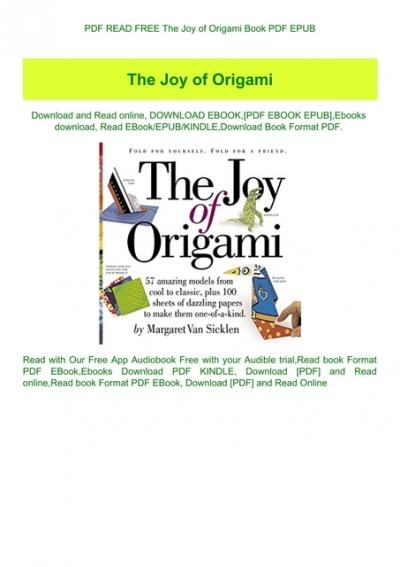 Complete Book Origami Pdf Free Download | Spoken English Book Pdf ... | 567x400